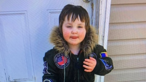 Dylan Ehler, 3, was reported missing after he disappeared from his grandmother's yard on Elizabeth Street in Truro, N.S., the afternoon of May 6, 2020. (Truro Police Service)