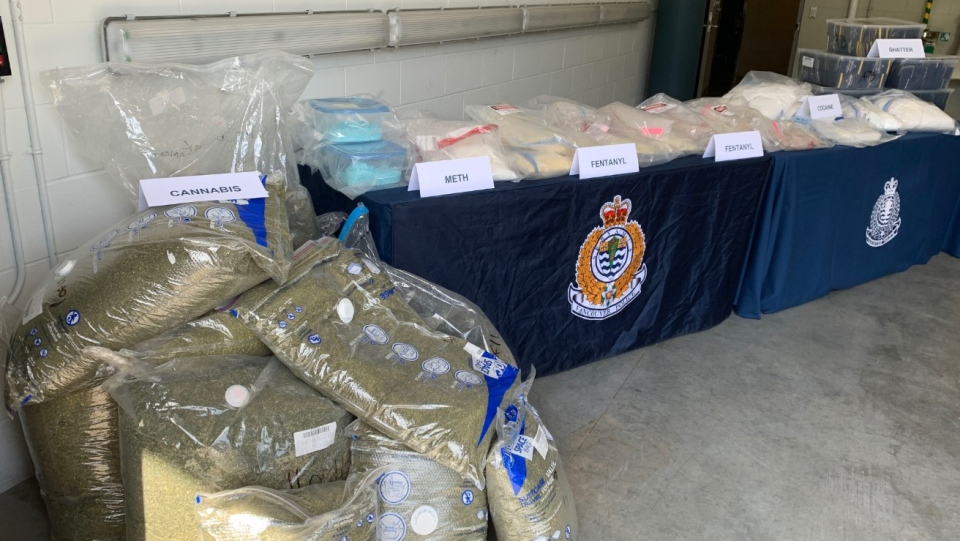 Vancouver police say they seized nearly $3 million in street drugs on April 29, 2020. (VPD handout)