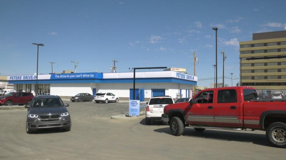 Peters Drive-in Edmonton
