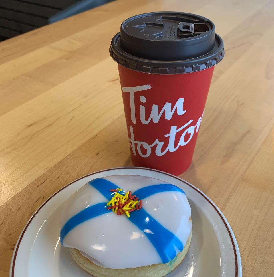 Nova Scotia Strong donut