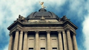 Manitoba legislature (file image)
