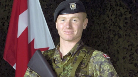 Cpl. Kevin Megeney, a reserve member of the 1st Battalion Nova Scotia Highlanders, is shown in this undated handout photo. (Department of National Defence)