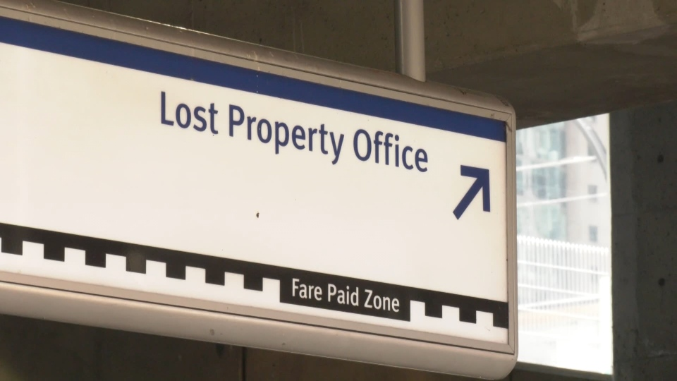 TransLink's Lost Property office.