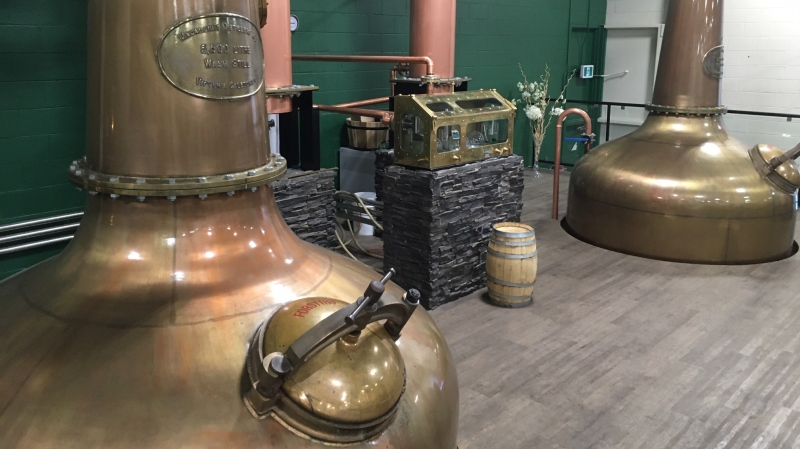 Macaloney's Caledonian Distillery in Saanich is being taken to court for offering up a product that's allegedly a little too close to the original. (CTV News)