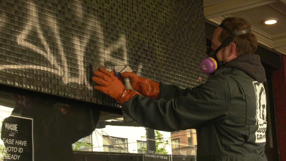 Graffiti involving hateful, racist messages have increased by at least five times in Vancouver, according to a company that cleans it up.