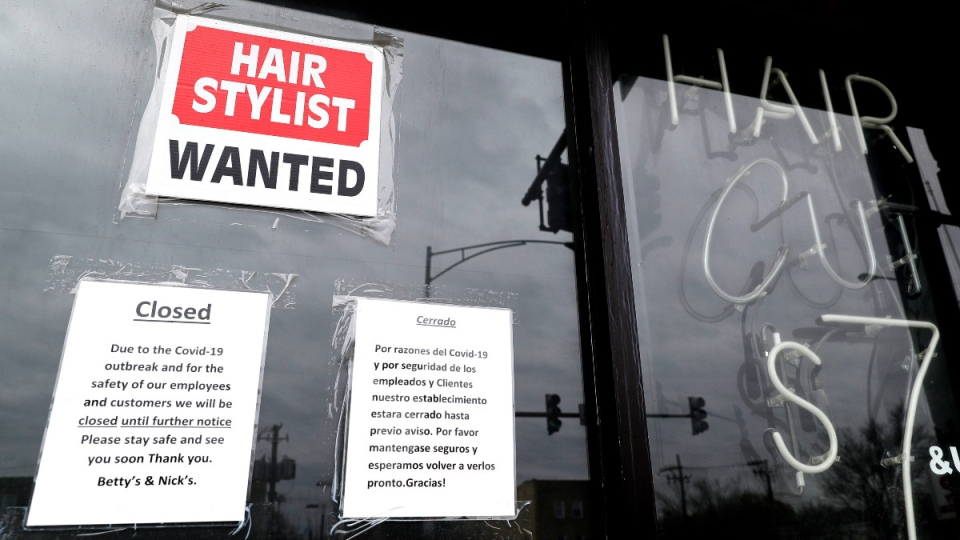 A barber shop in Chicago
