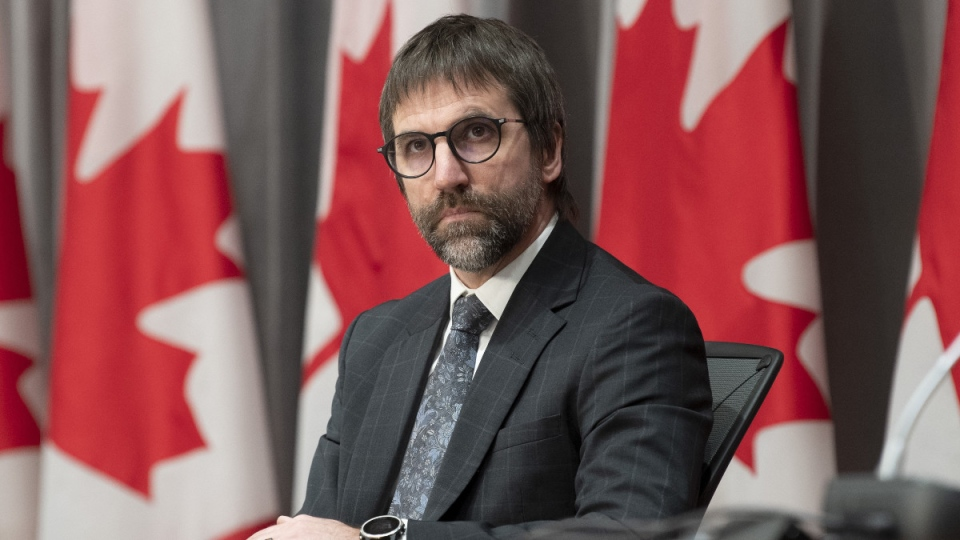 Minister of Canadian Heritage Steven Guilbeault