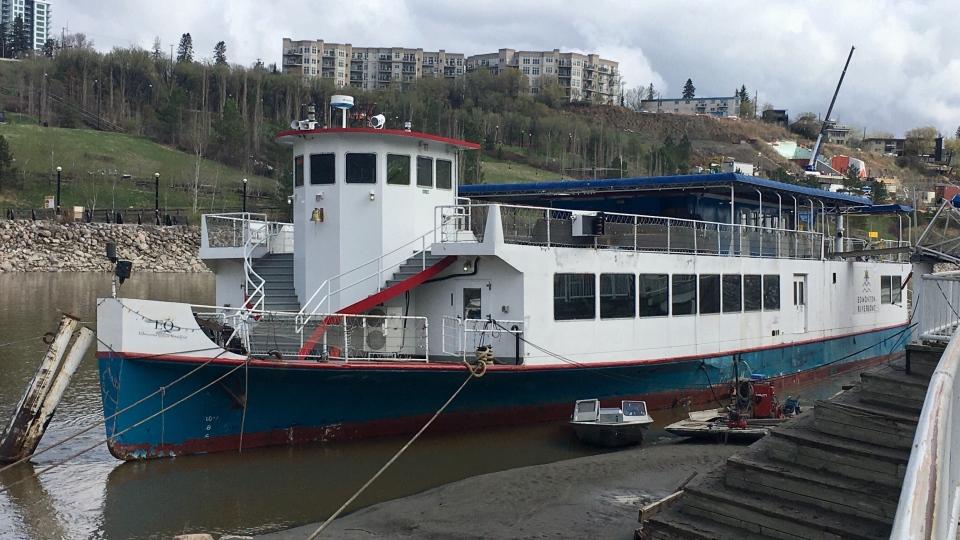 Edmonton Riverboat, May 8