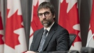 Minister of Canadian Heritage Steven Guilbeault is seen during a news conference in Ottawa, Friday, April 17, 2020.THE CANADIAN PRESS/Adrian Wyld