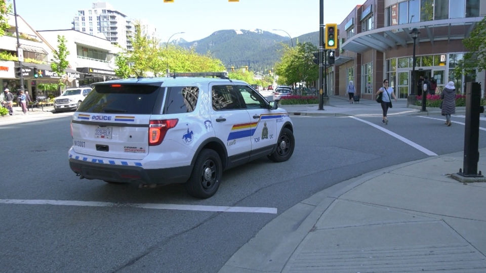 North Vancouver RCMP cruiser