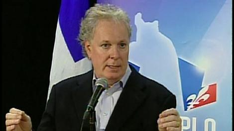 Quebec Premier Jean Charest (Sept. 29, 2009)