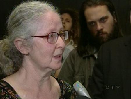 Daniel Topey's mom, Huguette Milberg.