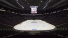 The ice surface and bowl of the Canadian Tire Centre where the Ottawa Senators play is seen Thursday September 7, 2017 in Ottawa. THE CANADIAN PRESS/Adrian Wyld