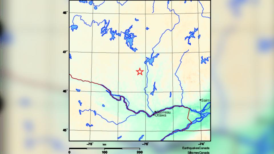 Maniwaki Earthquake