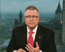 Liberal House Leader Ralph Goodale speaks on Canada AM from CTV's studios in Ottawa, Tuesday, Sept. 29, 2009.