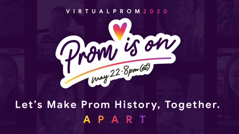 A national organization is organizing a virtual prom for Grade 12s across Canada.