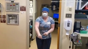 Staff at Sacred Heart Hospital in Cheticamp, N.S created a video to show their appreciation to the community that has supported them.