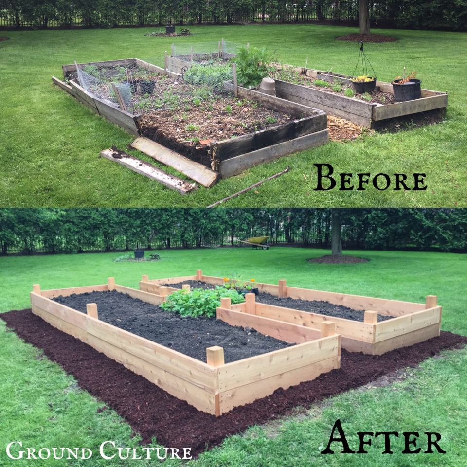 Garden Culture before and after