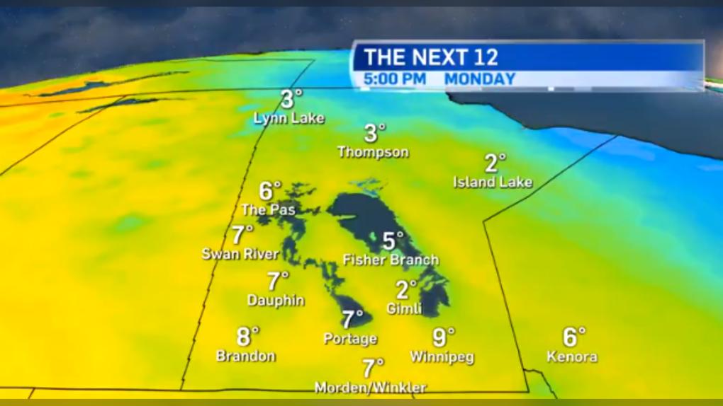 Manitoba forecast.