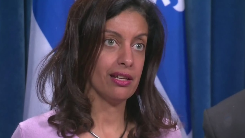 Anglade acclaimed as new leader of Quebec Liberals