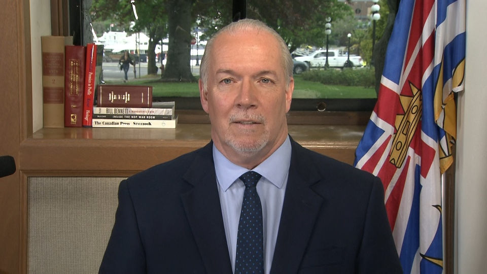 In an interview with CTV News Vancouver on Monday, B.C. Premier John Horgan said he will be speaking via phone with NHL commissioner Gary Bettman about the possibility of the NHL returning to Vancouver.