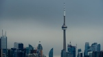 The CN Tower in Toronto is seen on Sunday, May 10, 2020. THE CANADIAN PRESS/Nathan Denette