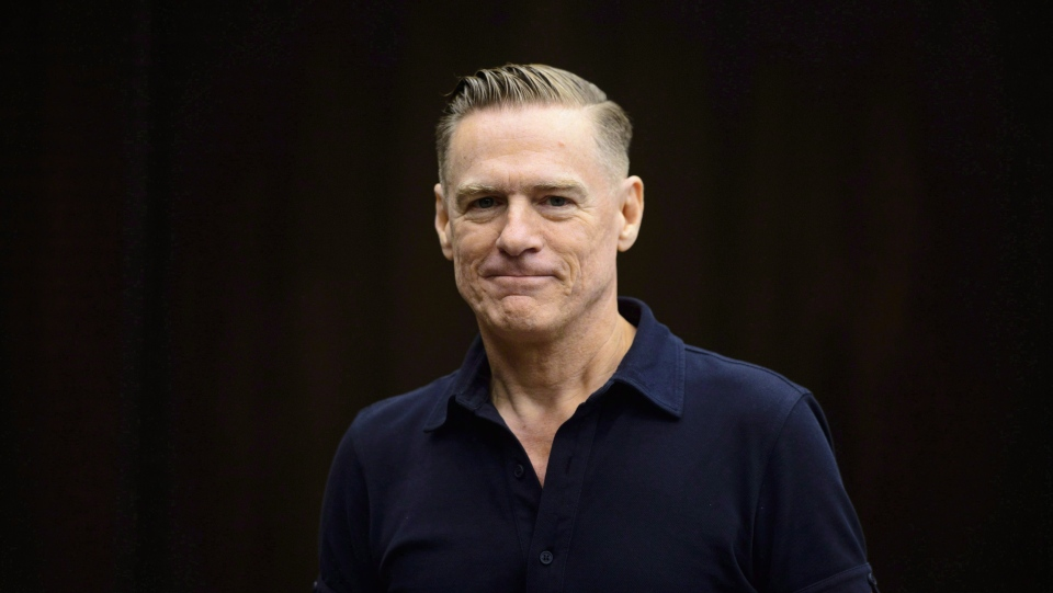 Canadian rock star Bryan Adams appears as a witness at a Standing Committee on Canadian Heritage in Ottawa on Tuesday, Sept. 18, 2018. THE CANADIAN PRESS/Sean Kilpatrick