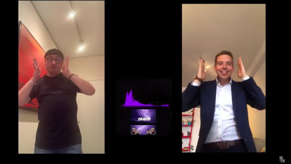 Dr. Horacio Arruda dancing
