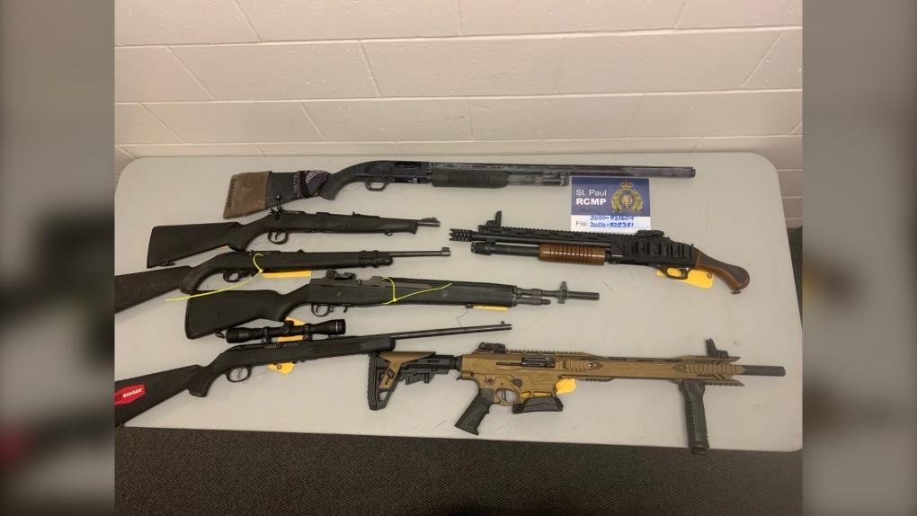 Gun trafficking, St Paul, Saddle Lake