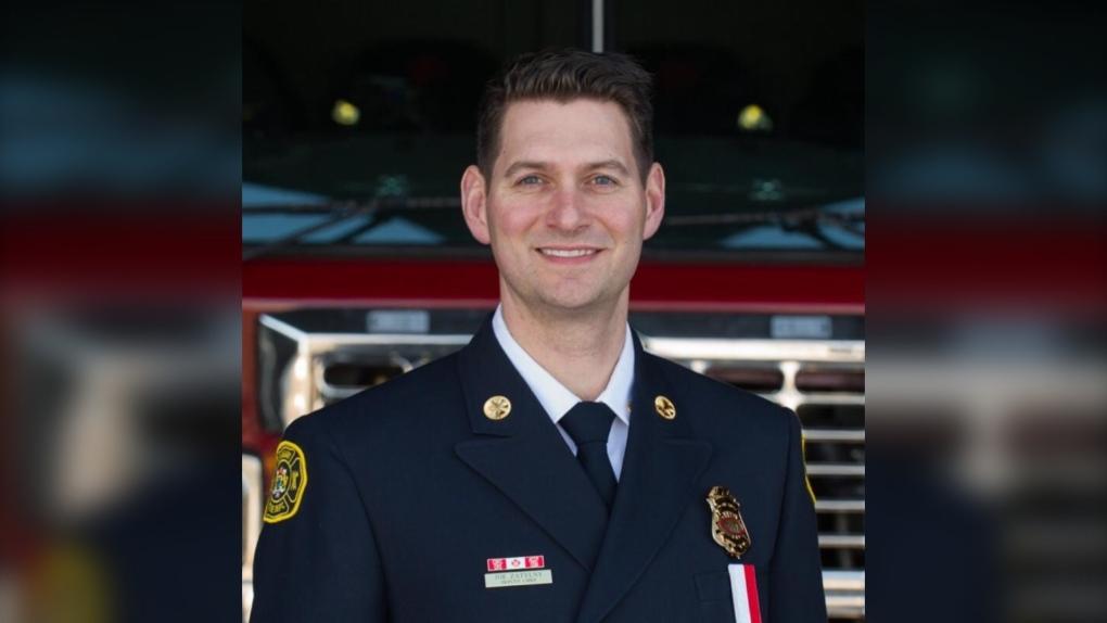 Edmonton Fire Chief Joe Zatylny