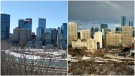 Both Calgary and Edmonton's economies will suffer the biggest impacts from COVID-19, the Conference Board of Canada says. (File)