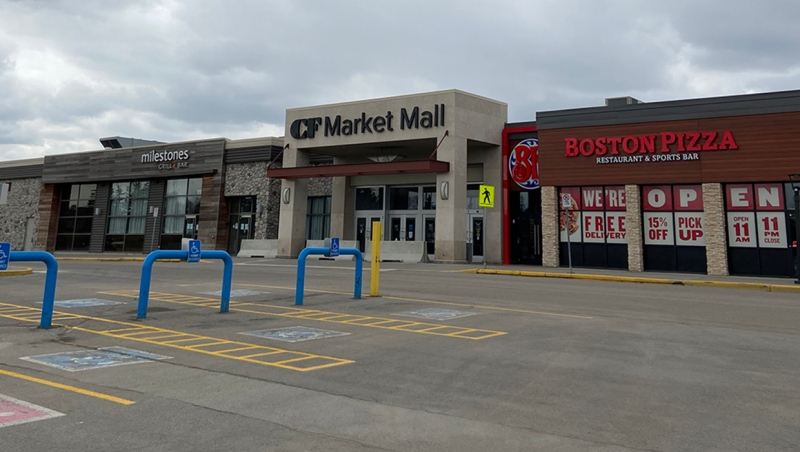 A suspect has been charged with two counts of sexual assault following an investigation into two incidents at Market Mall on March 23. (file)
