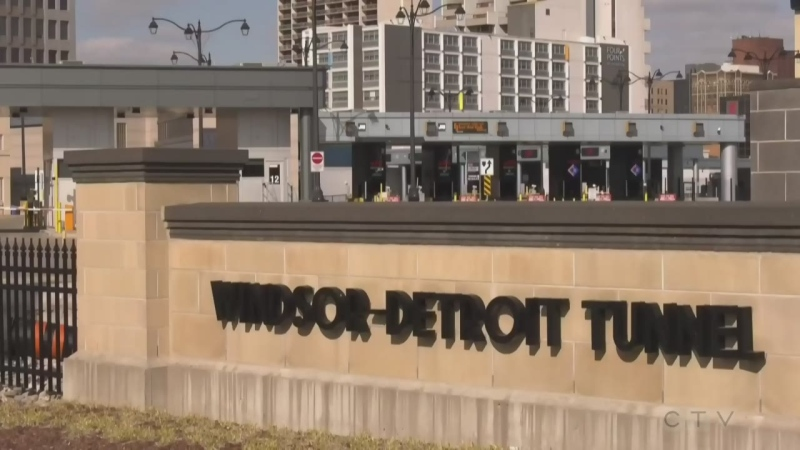 Windsor-Detroit tunnel