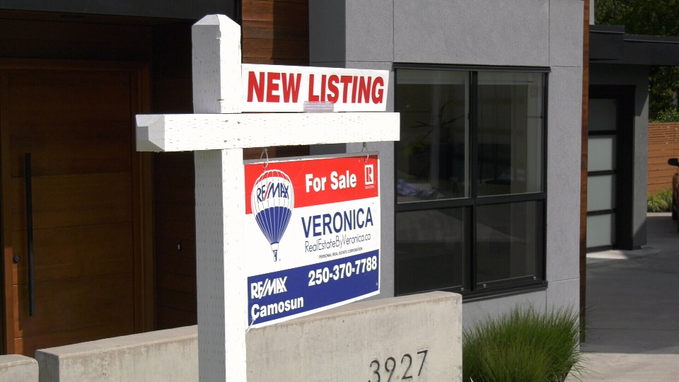 The average cost of a single-family home in Greater Victoria continued to be above $1 million in July: (CTV News)