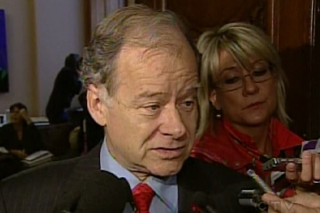 Quebec Finance minister Raymond Bachand says no decision has been made yet. (Sept. 29, 2009)