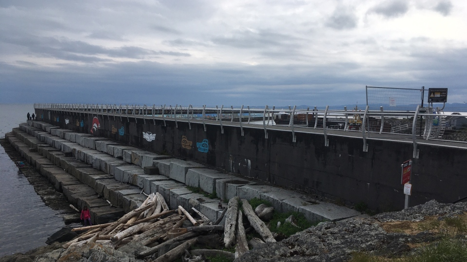 Victoria's Ogden Point Breakwater will reopen next week after being closed due to visitors failing to adequately physically distance in March: (CTV News)