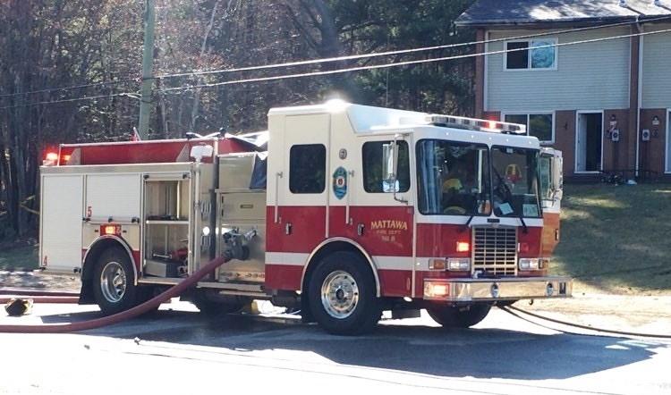 Mattawa fire truck