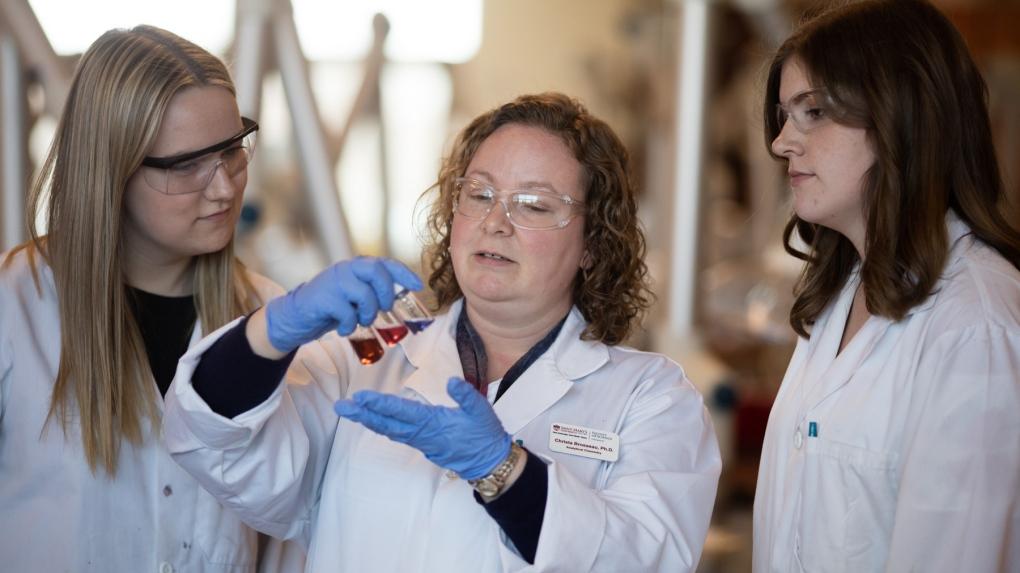 Nova Scotia chemists work with mill