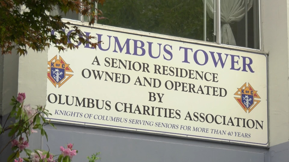An MLA says seniors at this building were taken advantage of by people offering to sign them up for the CERB.