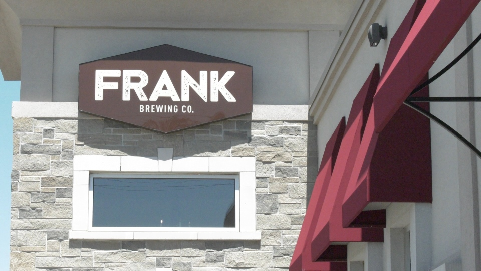 Frank Brewing Co. in Tecumseh, Ont.