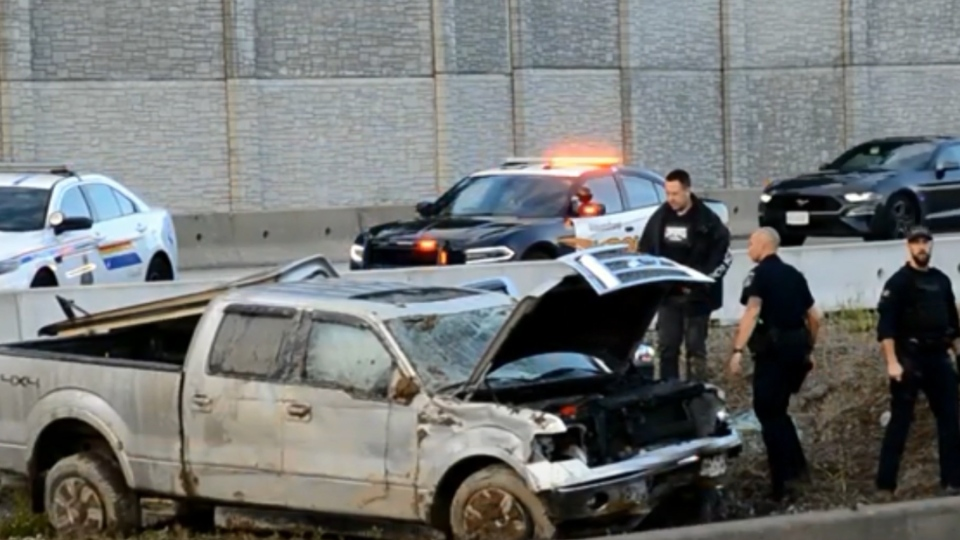 Langley crash