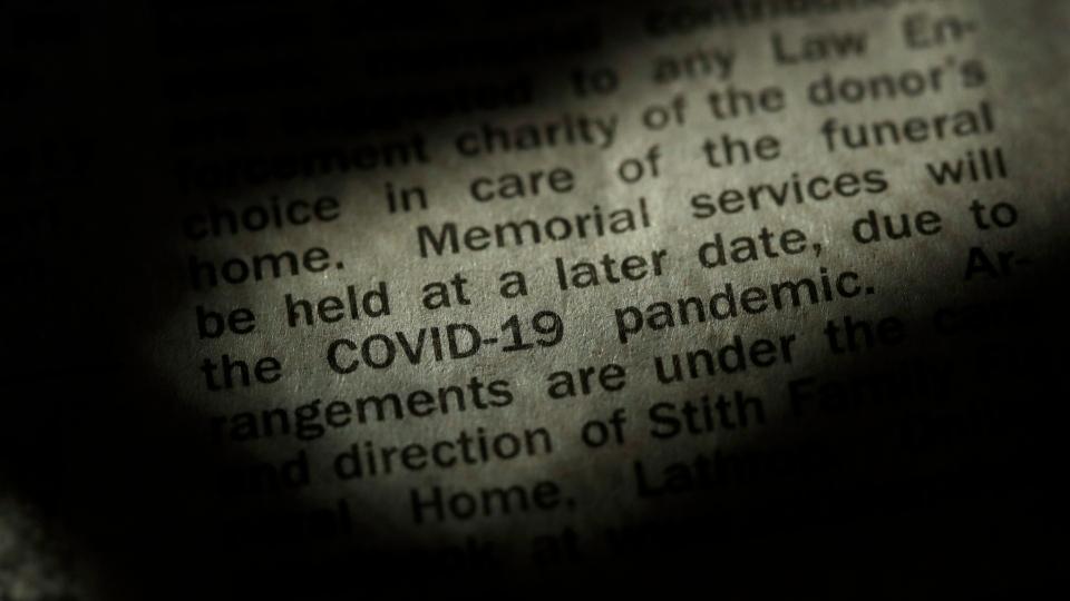 obituary COVID-19
