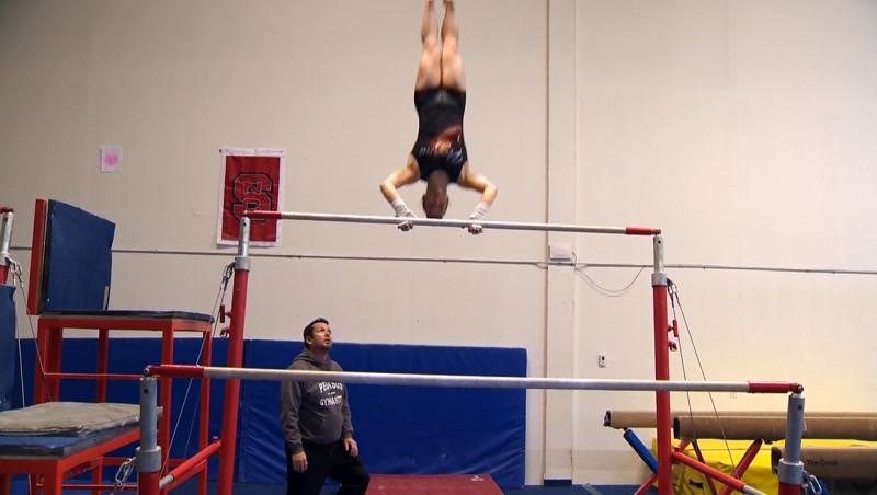 Pegasus Gymnastics co-owner Jeremy Mosier says he's never seen anything like the pandemic of 2020. Mosier predicts numerous local gymanstics clubs will be forced to close down. Gymnastics clubs aren't scheduled to reopen until Phase 3 of the relaunch of the Alberta economy. (File photo)