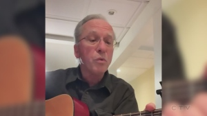 Tonight's closing song is from a doctor in Parry Sound. Dr. Tom Higgins sings a modified version of Harry Chapin's 'Cats in the Cradle.'