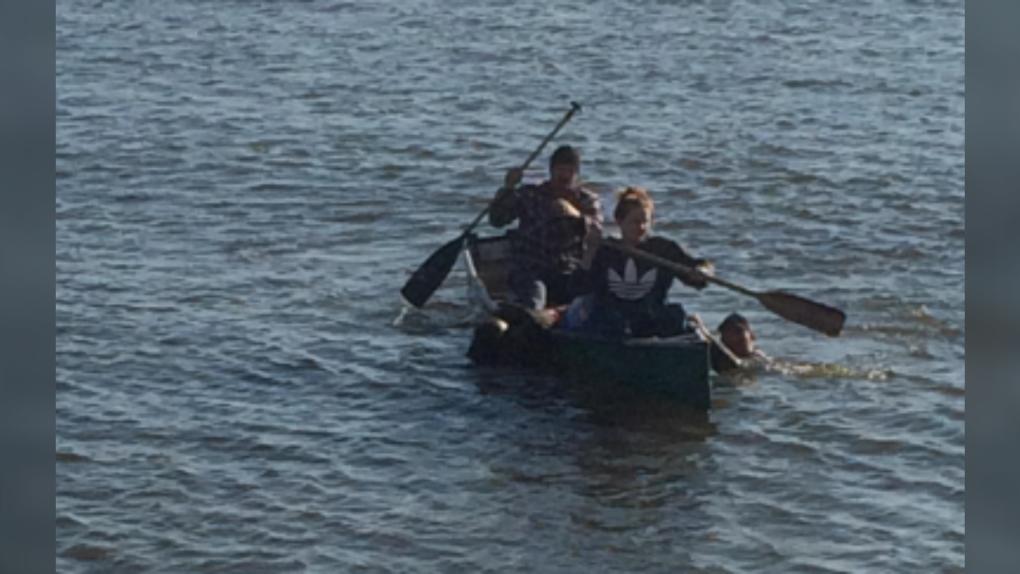 Lake Winnipeg rescue