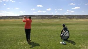 Golf courses around Saskatchewan are preparing to reopen on Friday. (Claire Hanna/CTV News)