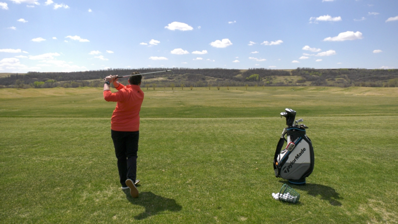 Golf courses around Saskatchewan are preparing to reopen on Friday. (Claire Hanna/CTV News)