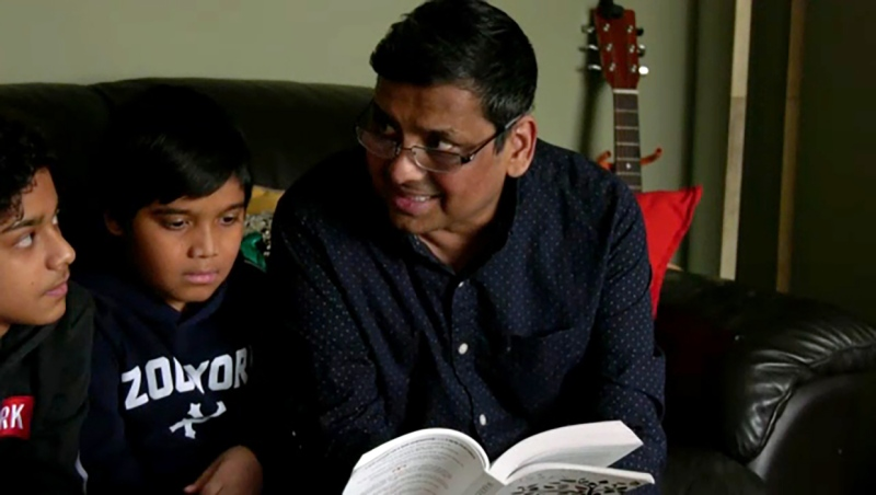 Calgary father Jay Chowdhury emerged from a 16 day long coma to discover he was cured of COVID-19.