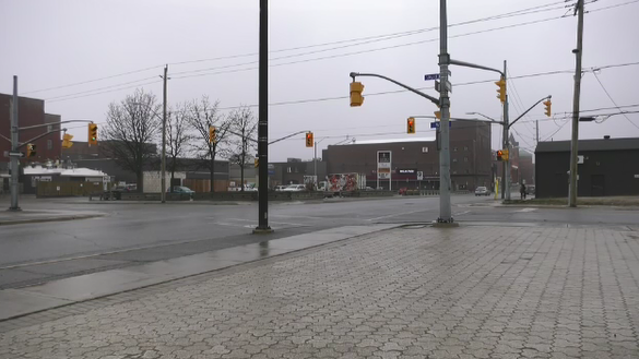 North Bay intersection of McIntyre and Wyld