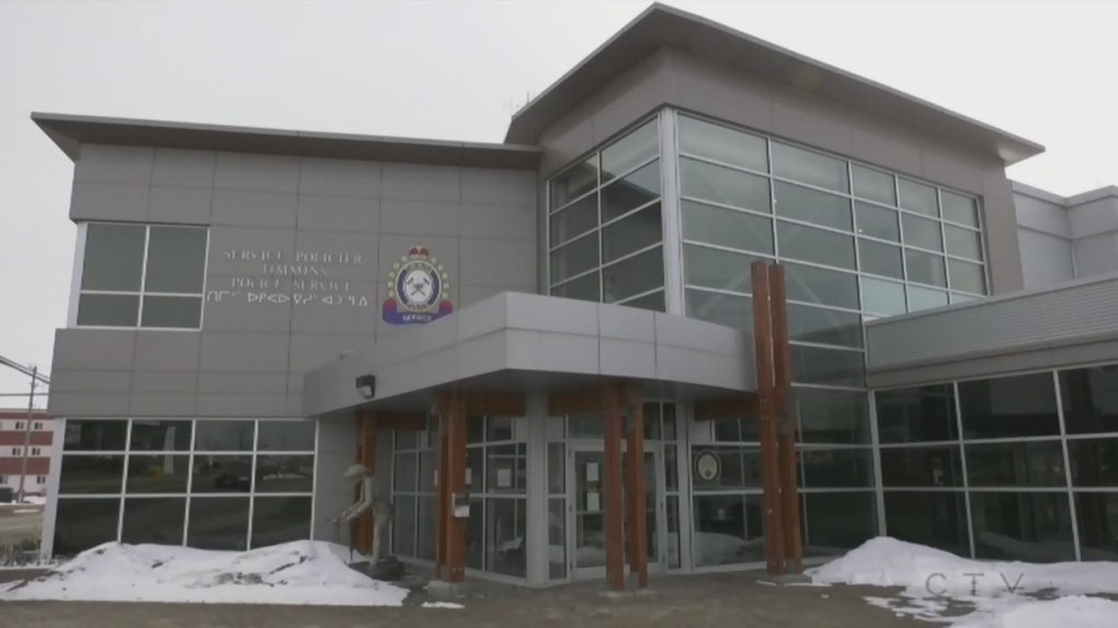 Timmins police station